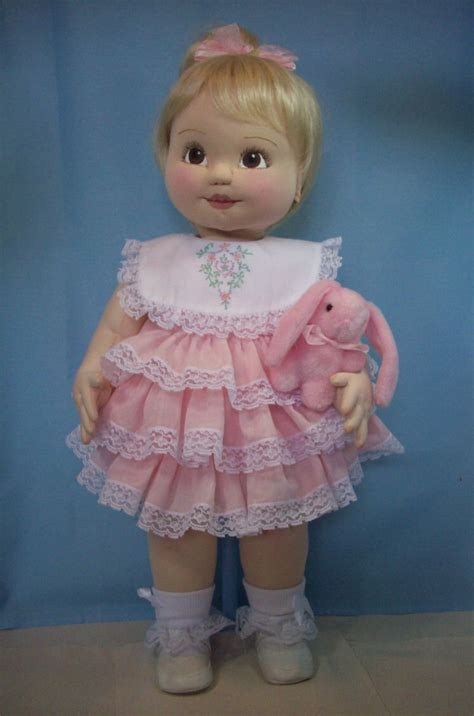 tiny petite beginners 2013 cloth baby doll challenge doll net