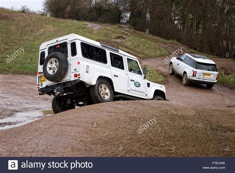 land rover experience defender land rover defender 110 and range rover roading on the