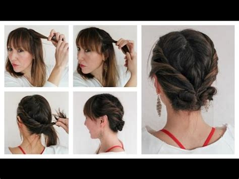 hairstyles for thin hair diy easy diy hairstyles for thin hair youtube