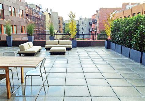 Gardenia Terrace Nyc Nyc Roof Deck Terrace Garden Outdoor Seating