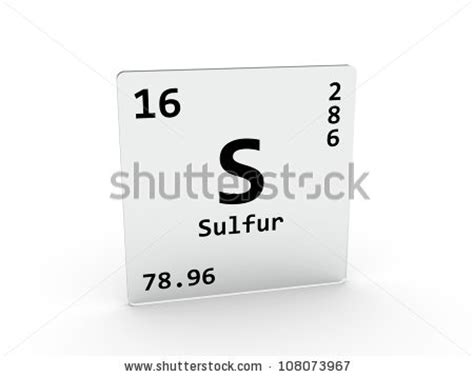 S Symbol Periodic Table by Stock Images Similar To Id 92024117 Sulfur Element Of The