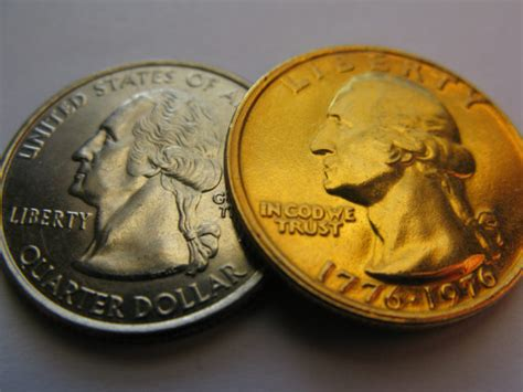 gold colored quarter error coins here s how to tell a normal or altered