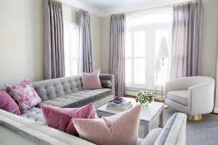 grau rosa wohnzimmer gray and pink living room with purple curtains