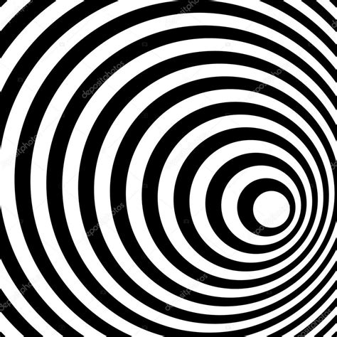 spiral pattern black and white abstract ring spiral black and white pattern background