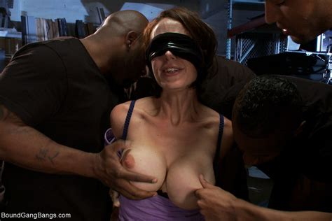 blindfolded Wife party Datawav