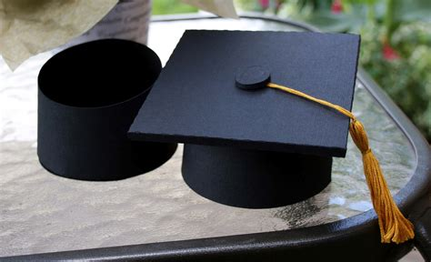 How To Make A Paper Graduation Cap - one scrap at a time for the grad decor