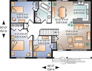Single Level Floor Plans house plan w3109 detail from drummondhouseplans com