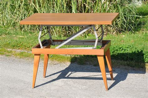 tables transformables table basse de jardin transformable