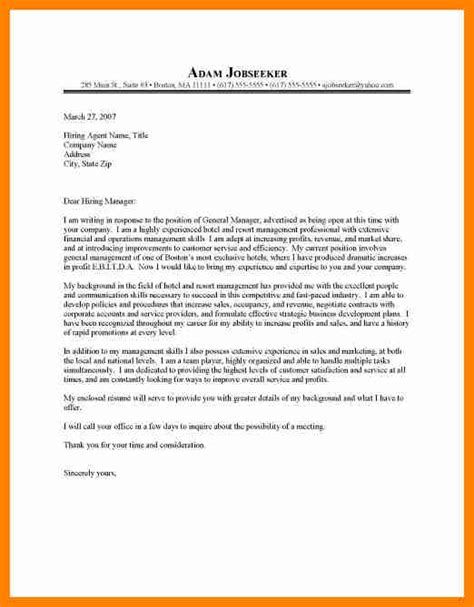 appointment letter hotel general manager 10 general manager cover letter resume type