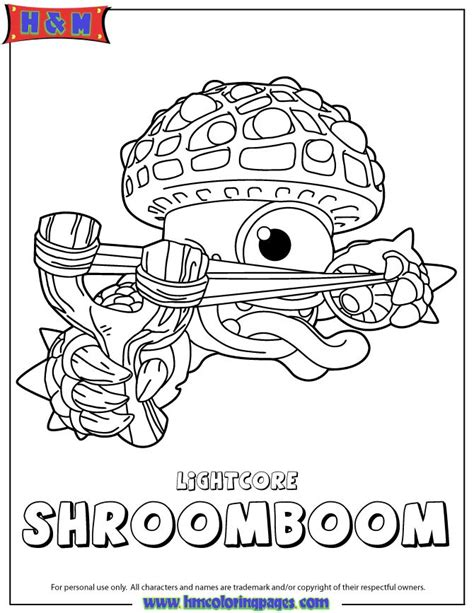 eye brawl skylander coloring page eye brawl book covers
