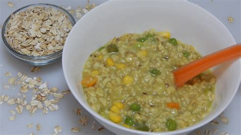 l vegetables healthy baby food recipe vegetable oats l oatmeal with