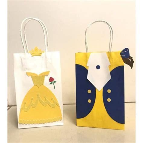 Belleza Bag belleza y los bolsos de bestia y bestia goody bags and the beast and note