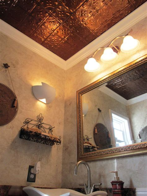 Tin Ceiling In Bathroom by Bathrooms With Tin Ceilings Bathroom