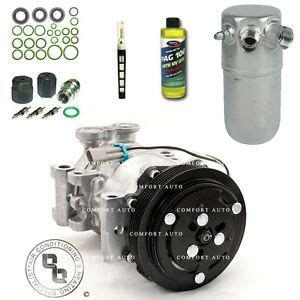new ac compressor kit fits 1996 1999 chevy k1500 suburban with rear a c ebay