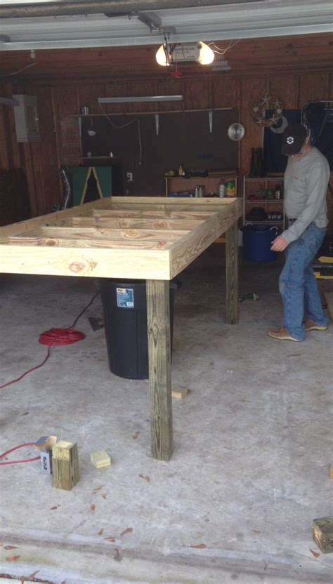 Oyster Table by Coastal Kelder How To Build The Oyster Shucking