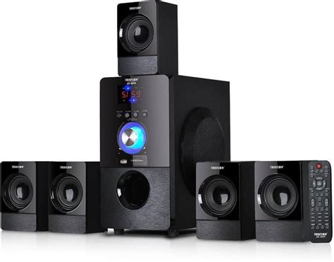 best bluetooth home theater system best 5 1 speakers with fm usb aux and bluetooth home