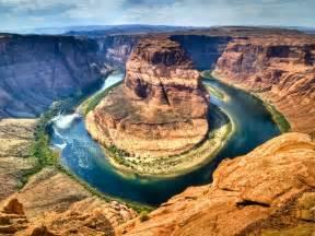 Horseshoe bend colorado river arizona usa natural creations