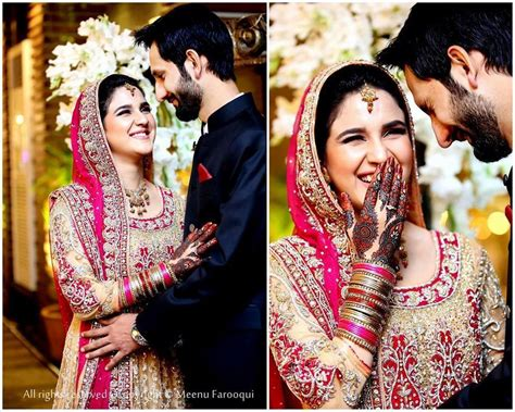 New Wedding Pic by Anoushay Abbasi Wedding Photos Nikkah Picture