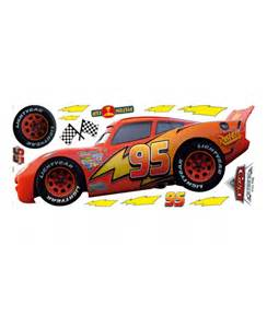 Lightning Mcqueen Wall Stickers Disney Cars Lightning Mcqueen Large Wall Sticker