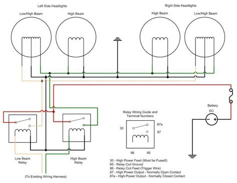 wiring a light electronic circuit diagram and layout