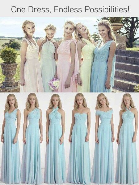 Bridesmaid Dresses To Fit All Sizes - 25 best ideas about infinity dress bridesmaid on