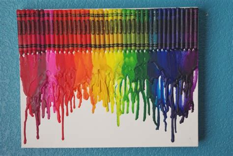 Sale Hairdryer Rainbow melted crayon tutorial happiness is