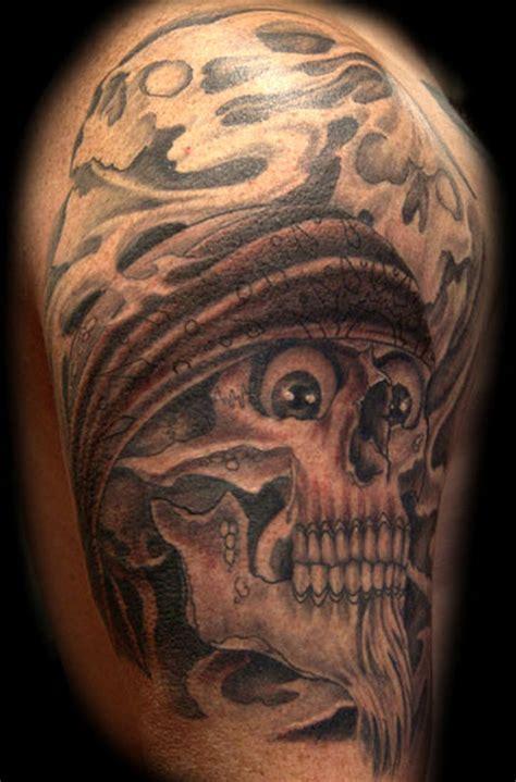 gangster skull tattoos gangsta skull tattoos www pixshark images
