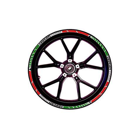 Ducati Rim Sticker by Ducati Corse Rim Stickers Full Kit