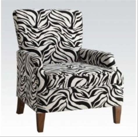 Zebra Print Recliner by Zebra Print Furniture