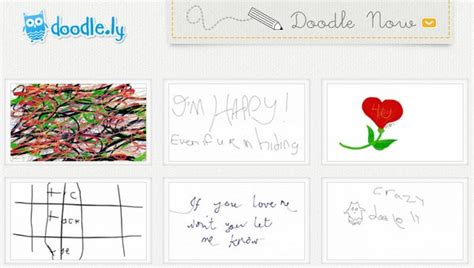 how to use doodle ly doodle ly demuestra tu habilidad para dibujar en un