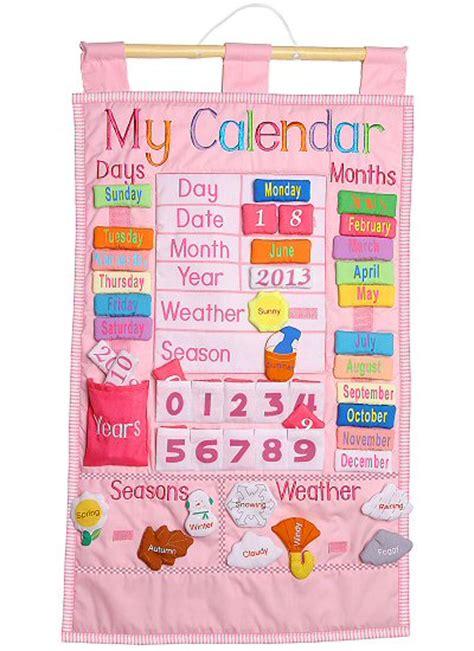 Calendar Hanging My Calendar Wall Hanging Pink By Rosalina
