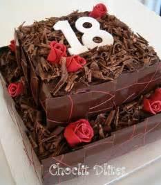 Robyn S 18th Birthday Cake Chocolate Sponge With Dark Choc Flickr