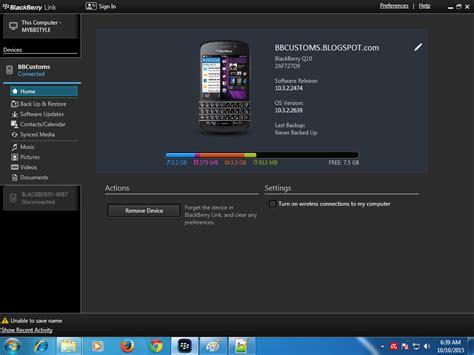 reset blackberry link backup data blackberry 10 menggunakan blackberry link