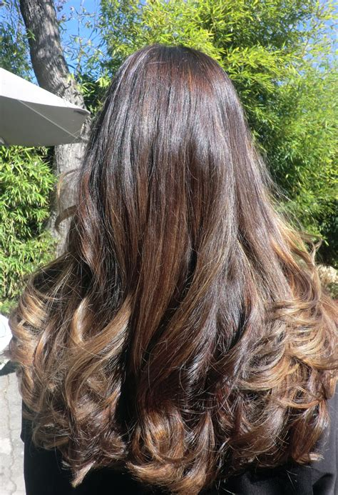 brown hair with blonde highlights chocolate brunette with ash blonde highlights neil george