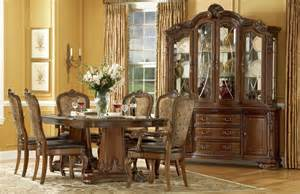 world pedestal dining room set from