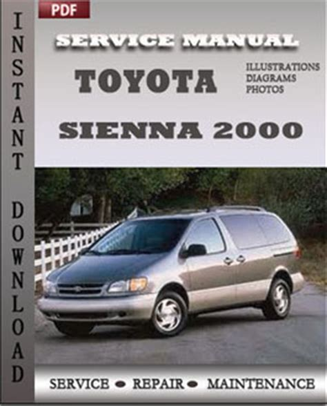 service manuals schematics 2012 toyota sienna auto manual toyota sienna 2000 repair manual pdf online servicerepairmanualdownload com