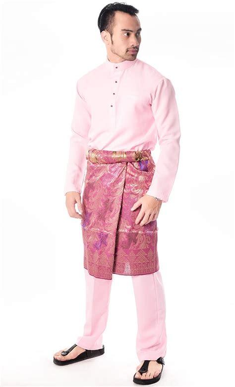 Baju Kurung Pink Hijau baju melayu in romeo pink fashionvalet