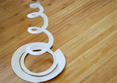 How To Make A Helix Out Of Paper - tutorial sharknado paper plate mobile dollar store crafts