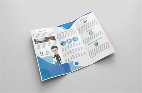 mockup design for brochure simple brochure mockup mockupworld