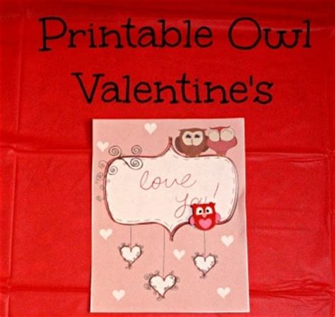 printable owl valentines day cards owl valentines day cards life with heidi