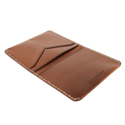 how to make a card wallet makr carry goods wallet passport bark flap credit card