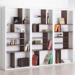 contemporary bookshelves this bart mult tiered modern bookshelf 218 works great