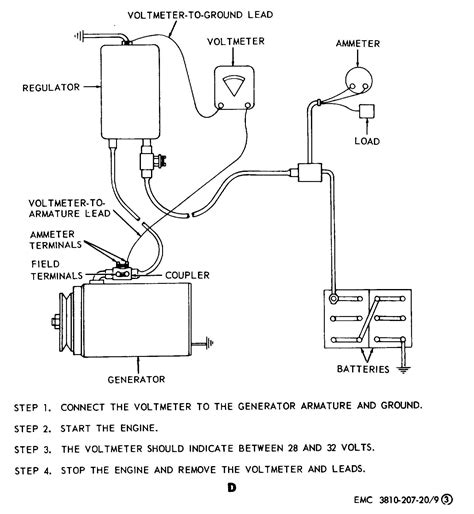 figure 9 generator regulator removal adjustment and