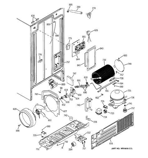 hotpoint refrigerator ice maker dispenser parts model