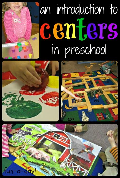 center themes for preschool centers in preschool an introduction early childhood