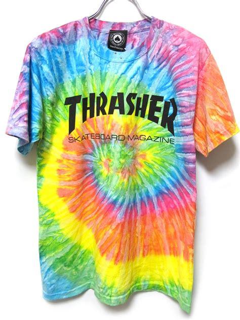 thrasher tie dye in the streets
