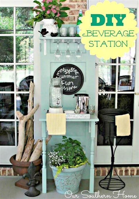 25 DIY Outdoor Serving Stations / Table / Cart / Bar   DIY