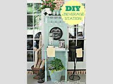 25 DIY Outdoor Serving Stations / Table / Cart / Bar - DIY ... Wood Bar Background