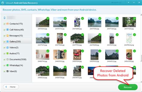 restore deleted photos android how to recover deleted photos pictures from android devices