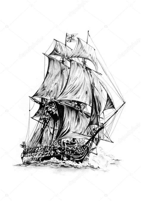 barco pirata dibujo a lapiz dibujos barcos pesqueros a lapiz dibujo de motivo de